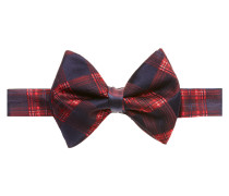 Red Check Bow Tie One