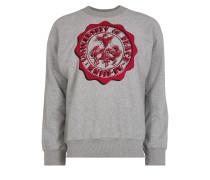 Anglomania Square Sweater University Of Peace Grey Melange