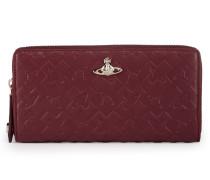 Harrow Zip Round Wallet 321516 Bordeaux