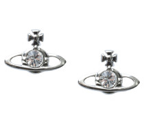 Anglomania Nano Solitaire Earrings Crystal