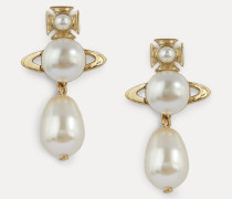 Inass Earrings Gold-Tone