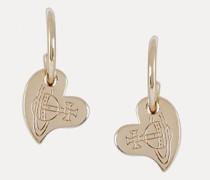 Sally Earrings Gold-Tone