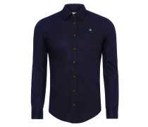 Classic Stretch Shirt Blue/Navy