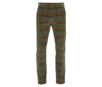 Classic Trousers Brown Check