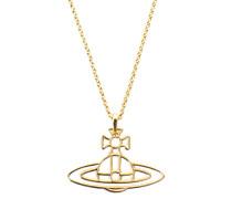 Vivienne Westwood Thin Lines Orb Gold Pendant
