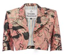 Crop Jacket Pink