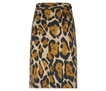 Anglomania Basic Mini Pencil Skirt Leopard