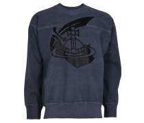 Anglomania Square Sweater Arm /Cutlass Print Navy-XS