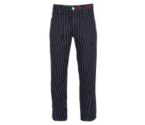 Anglomania Crow Jeans Blue Pinstripe