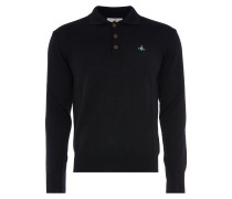 Classic Long Sleeved Polo Black