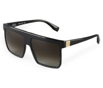 Square-Cut Sunglasses Black VW963S1BSG One