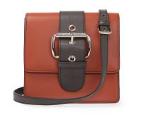 Small Alex Orange Leather Handbag 131222