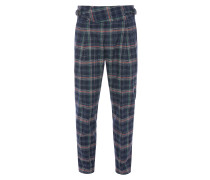 New Classic Trousers Navy Check