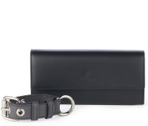 Alex Long Wallet With Cuff 321533 in Black