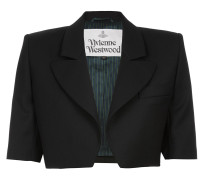 Crop Jacket Black