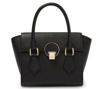 Opio Saffiano Handbag 131211 in Black