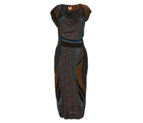 Vivienne Westwood Ioinian Dress In Navy & Brown