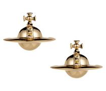 Solid Orb Earrings Gold