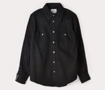 Lars Western Shirt Black