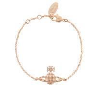 Harlequin Bas Relief Bracelet Peach
