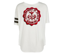 Anglomania New Baggy T-Shirt University Of Peace Print White