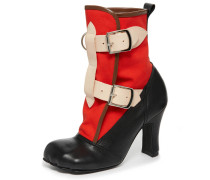Red Bondage Boots