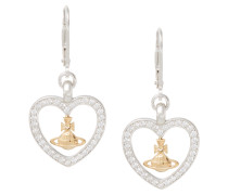 Capri Charm Sterling Silver Earrings