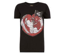 Anglomania Organic Heart World T-Shirt Black XS