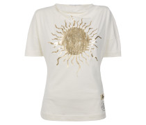 Golden Sun T-Shirt Off White