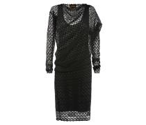 Anglomania Toga Drape Dress Black