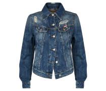 Anglomania Weave Classic Jacket Blue Denim