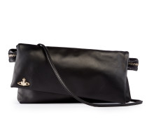 Leather Tintwistle Clutch Bag 44020005 Black