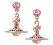 Light Rose Petite Orb Earrings