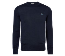 Classic Round Neck Jumper Navy
