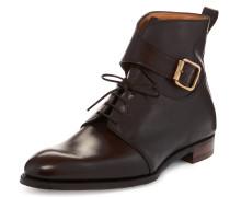 Rasputin Ankle Boots Brown
