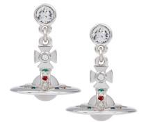 Silver New Petite Orb Earrings