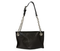 Small Sonia Shoulder Bag 190049 Black H 16.5cm