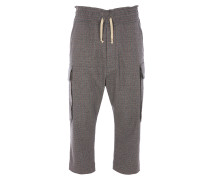 Samurai Trousers in Grey Check