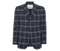 Peacock Jacket Navy Check