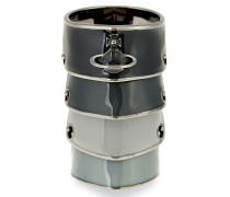 Artemis Enamel Ring Gradient Grey