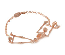 Anglomania Skeleton Bracelet in Rose Gold