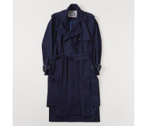 Gabelle Trench Navy