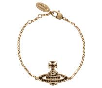 Jack Bas Relief Gold Plated Bracelet