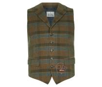 Classic Waistcoat Brown Check