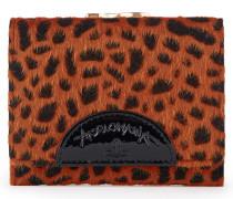 Anglomania Cheetah Wallet With Coin Pocket - Orange
