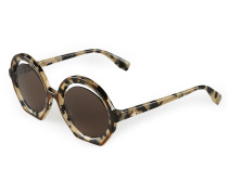 Crescent-Cut Sunglasses Tortoiseshell VW956S2HAR