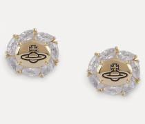 Charlene Earrings Gold-Tone