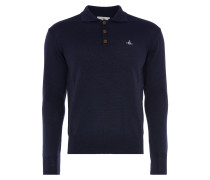 Classic Long Sleeved Polo Navy