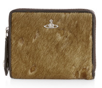 Small Hunter Zip Round Wallet 33400 Brown