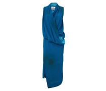 Long Hangover Dress Blue/Stains Print